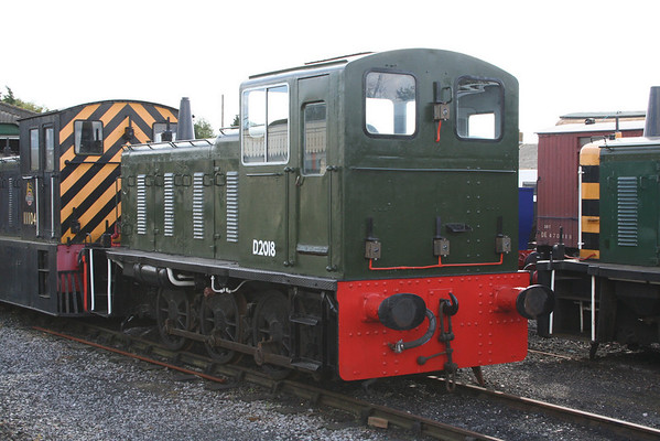 03018 has been overhauled on the bodywork but needs the engine fixing now. 29.08.09