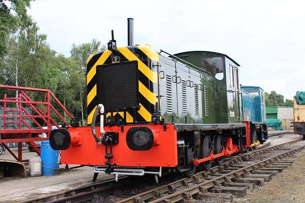D2205 at Rowsley. 03.09.17