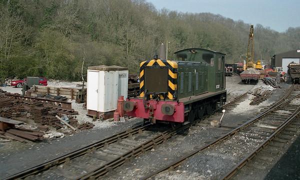 D2207 in Newbridge Yard near Pickering.
