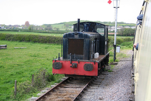 D2205 in the siding at Williton. 13.06.08