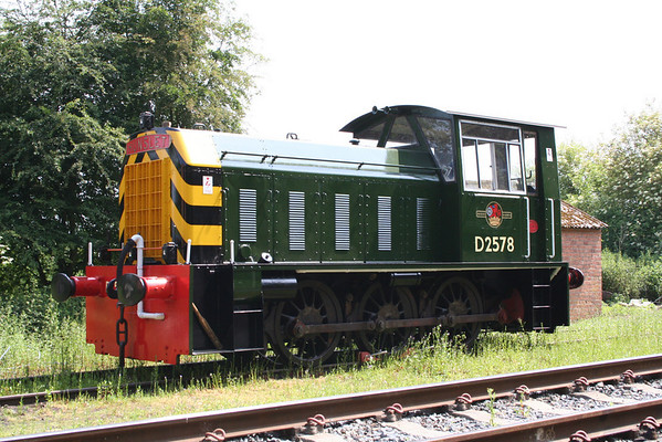 D2578 on show. 19.06.05