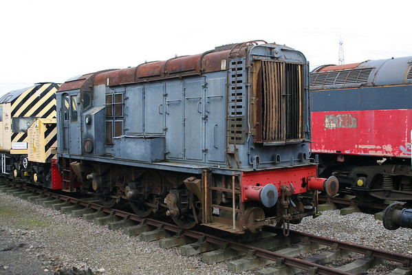 D3476 at Castle Hedingham on the Colne Valley Railway. 09.03.08