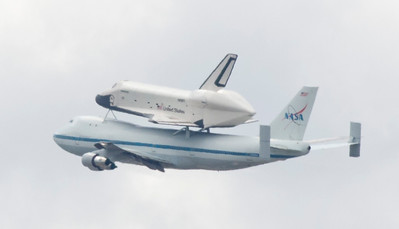 SHUTTLE ENTERPRISE COMES TO NEW YORK
