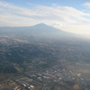 Leaving Catania: Mt Etna