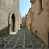 There is almost no asphalt in Erice. The streets, alleys & walkways all seem to be works of art in their own right.