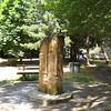Castellana Sicula sculpture in a park