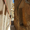 Narrow streets and alleys in the Kasba, Mazara del Vallo.