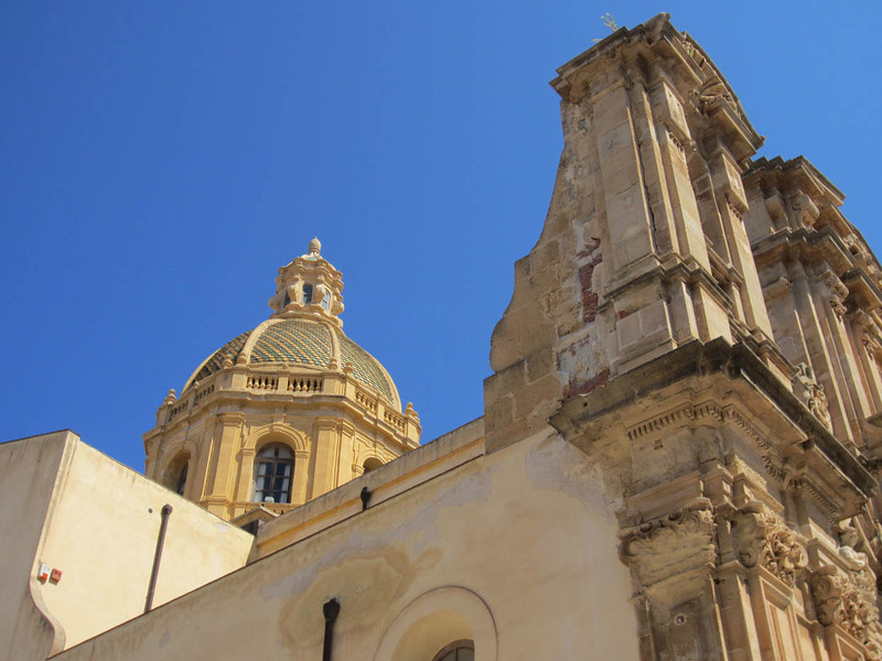 At the extreme west end of Sicily, Marsala was founded by the Carthaginians after they fled Mozia in 396 BC, and called Lilybaeum. Withstood a ten year siege by the Romans before being overrun in 241 BC. Was the HQ of the Roman governor. Under the Arabs it became Marsa Ali (the harbour of Ali). British investors began exporting Marsala wine in the late 1700's and it became a huge moneymaker.Garabaldi landed here in 1860 with his army of 1,000, apparently aided by two Royal Navy ships that had been tasked with protecting the British wine interests.