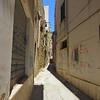 Narrow streets and alleys in the Kasba, Mazara del Vallo.