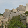 Sperlinga: the castle, large parts of which are carved out of the rock, with origins from the Sicels, ca. 1000 BC