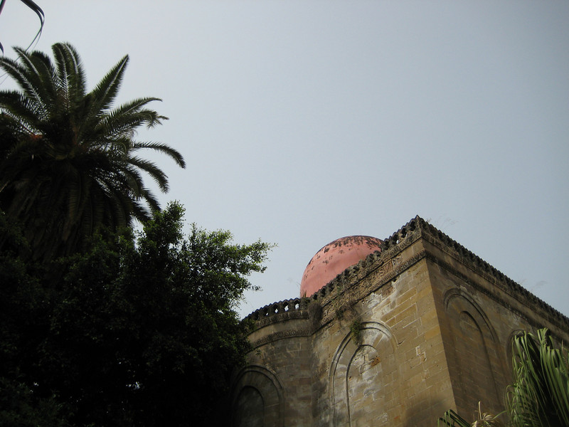 Dome of church of San Cataldo (c. 1160), Piazza Bellini