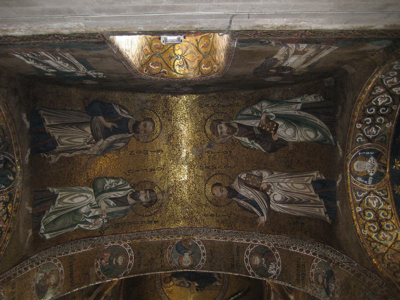Interior ceiling, church of la Martorana