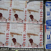 "Palermo: Anti-mafia posters: ""the mafia is a mountain of shit"""