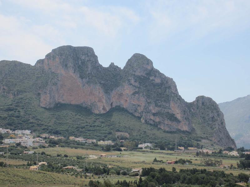Mountains near San Giuseppe, on the way to San Vito lo Capo