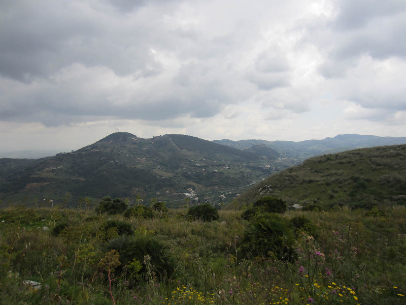 View from Monte Barbaro, Segesta