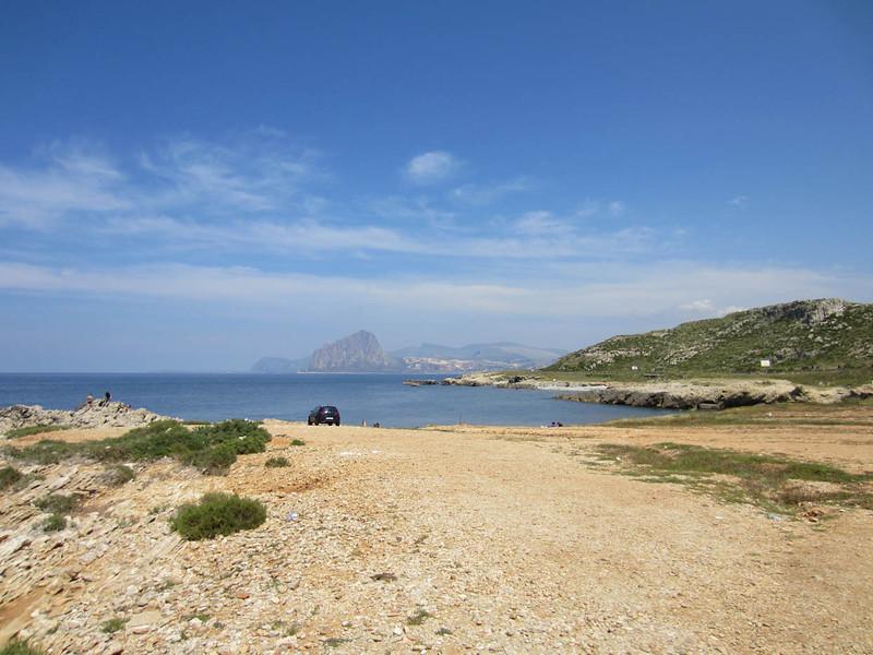 Around Tonnara di Bonagia, looking north toward Monte Cofano & San Vito lo Capo