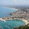 The town of Castellammare del Golfo