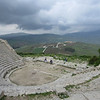 Teatro, Monte Barbaro: built by the Romans, circa 200 BC, could seat 4,000 people. This was only one part of a large town which included markets, houses and other structures on the mountain.