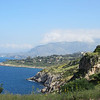 Looking towards the town of Castellammare del Golfo from Zingaro