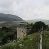 Defensive structure along wall, Monte Barbaro