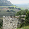 Defensive structure along wall, Monte Barbaro
