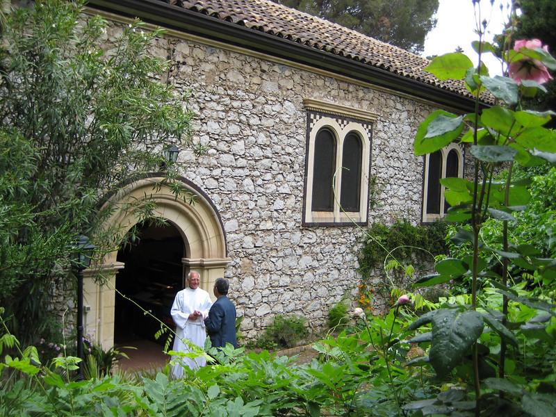 St George's Anglican church, Pentecost Sunday