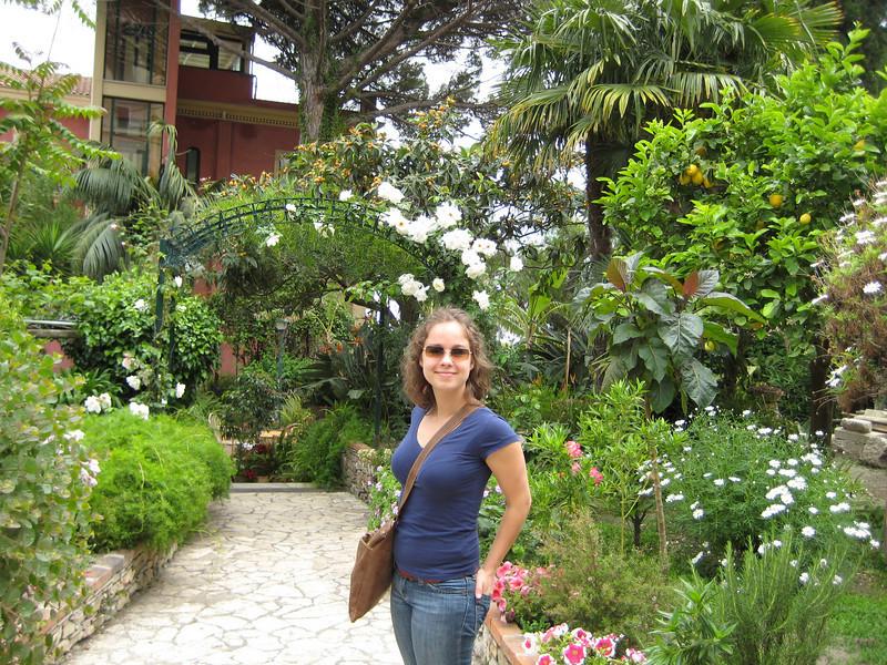 Taormina, Hotel Villa Schuler's garden