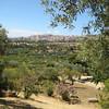 Looking north, Agrigento