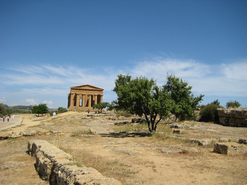 Temple of Concord from the west