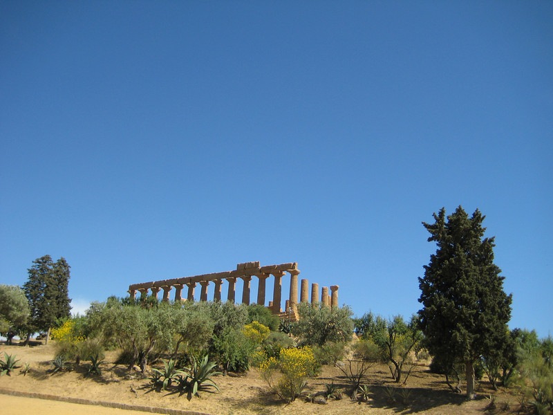 Temple of Hera from the NW
