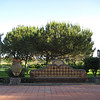 Castello d'Urso Somma urns & bench