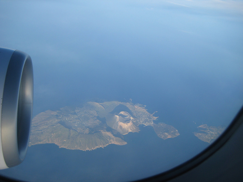 Isola Volcano, between Sicily and Calabria
