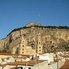 The Duomo & la Rocca, from the terrace of hotel la Giara