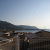 From the terrace of the hotel la Giara, looking west towards Palermo