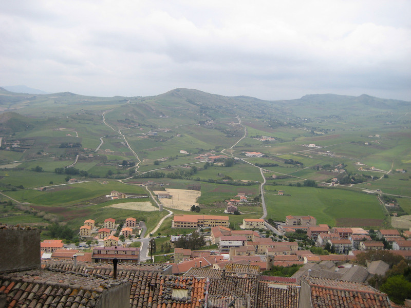 Gangi, looking south from Mt Marone