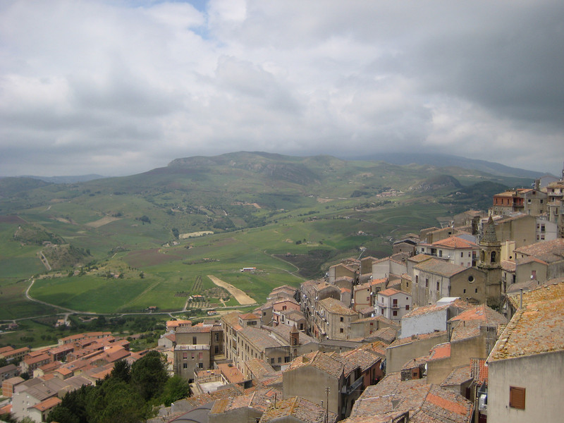 Gangi looking west