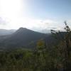 Mt Zimmero looking west
