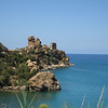 Out of the interior and on the north coast of the island: Kalura, from the east. Next stop Cefalu.