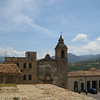 Castelbuono: unknown church, from the castle