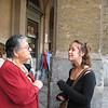 Maria & Carissa, Palermo train station