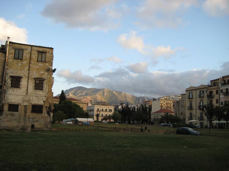 Kalsa Quarter, looking east
