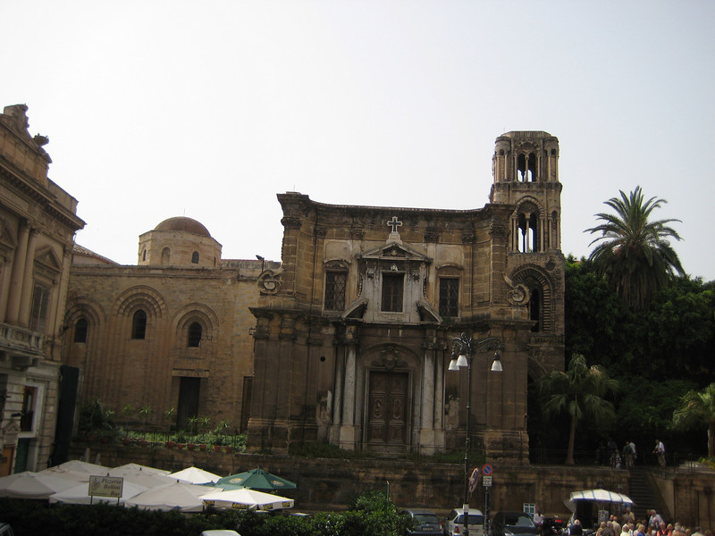 Church of la Martorana (c. 1146), Piazza Bellini