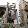 Vucciria Quarter - the same piazza, layers of graffiti and posters