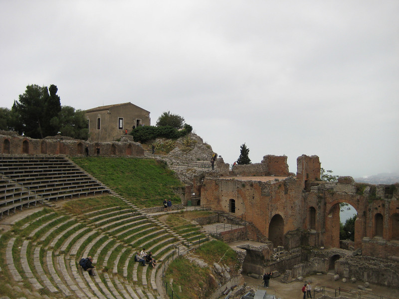 Greek theatre, 3rd century BC, renovated by the Romans in 2nd century AD