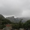 Some town on a mountain, perhaps Castelmola