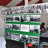 Historical photo display of the old Sicilian fishing community in San Diego