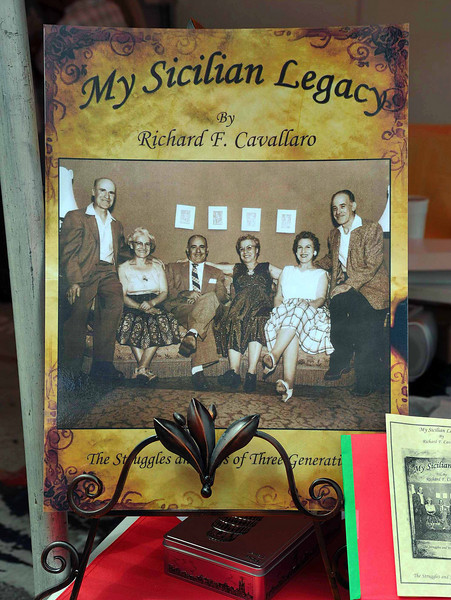 The Sicilian Cultural Pavilion features displays of historical photos and biographies.