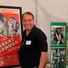 Damon Lanza, son of Mario Lanza, displays the history of his father's singing and movie career.