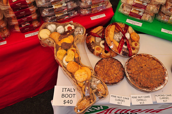 Sicilian Festival Food