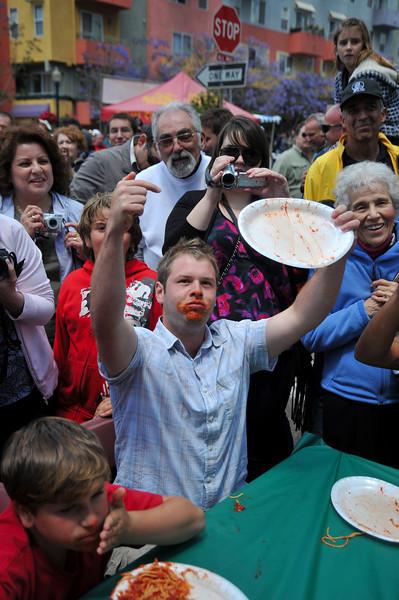 Entertainment, Pasta Contest Winner